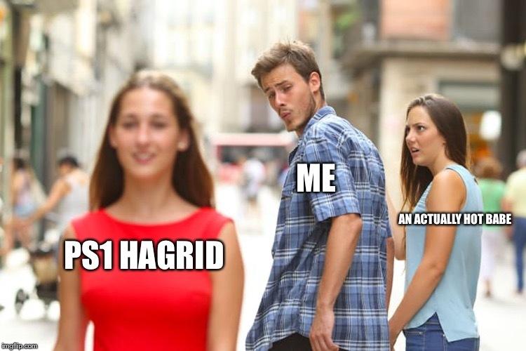 Ps1 hagrid - meme