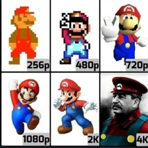 Woah Mario - meme