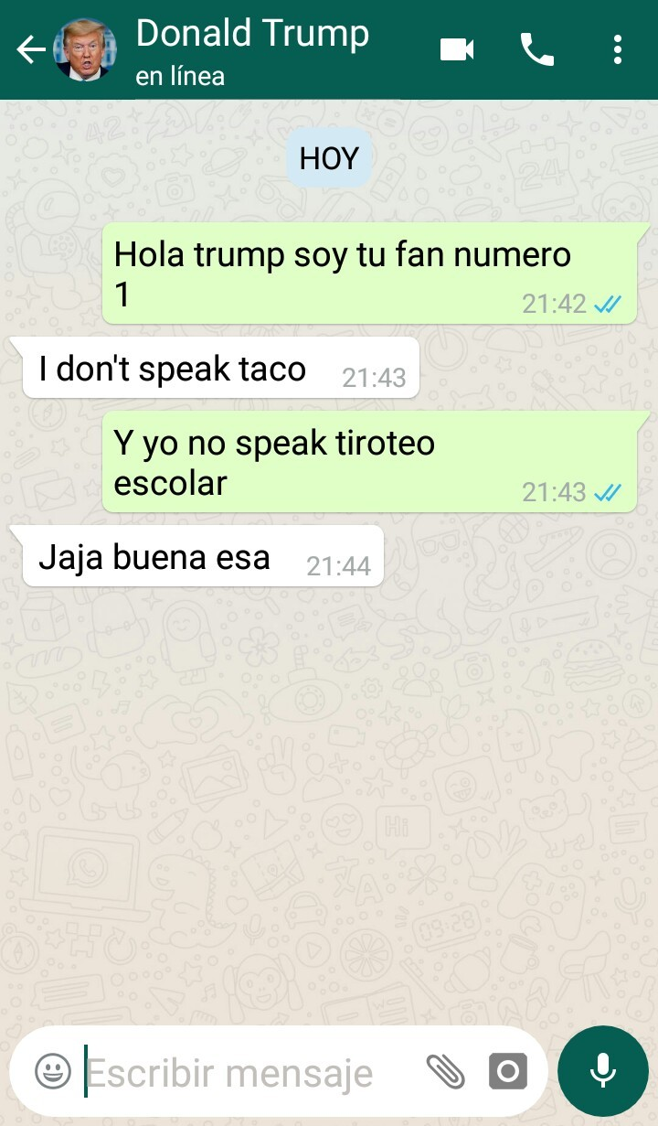 Donald trumpetas - meme