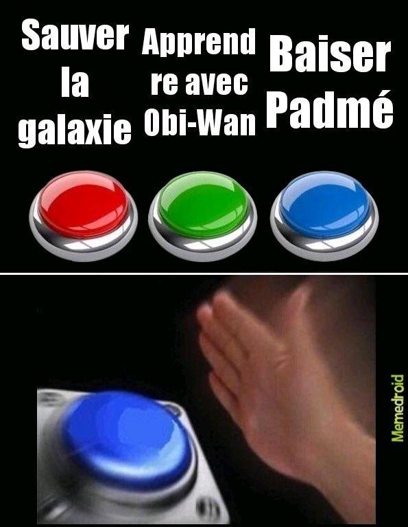 Anakin : - meme