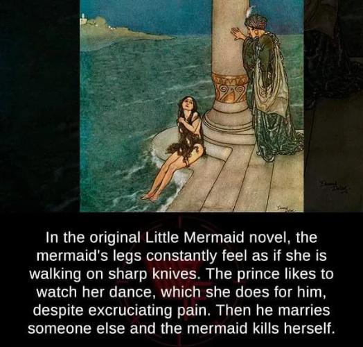 Classic fairy tales were much darker - meme
