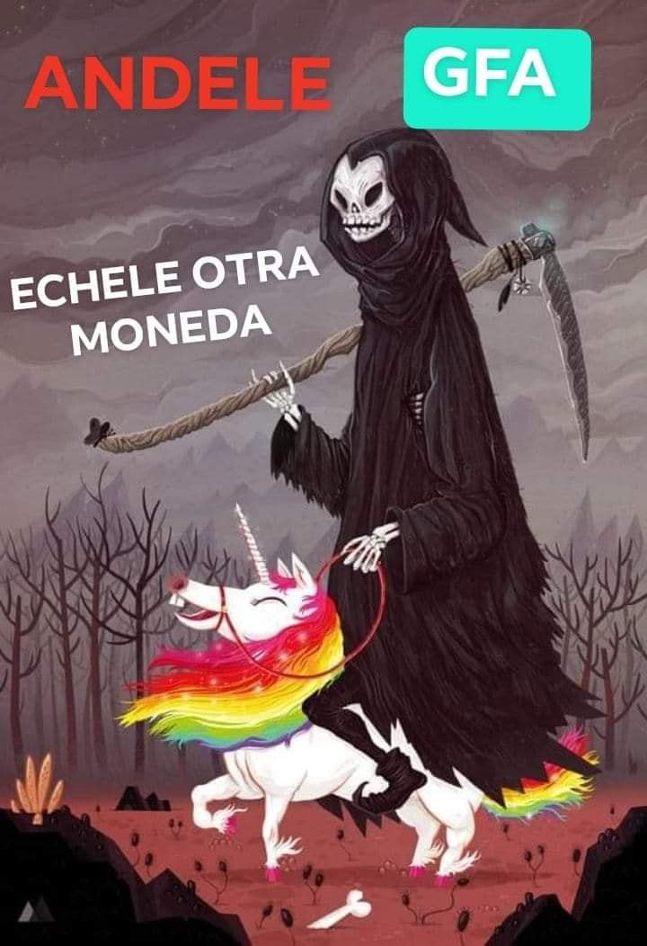 otra monedita gfita pls - meme