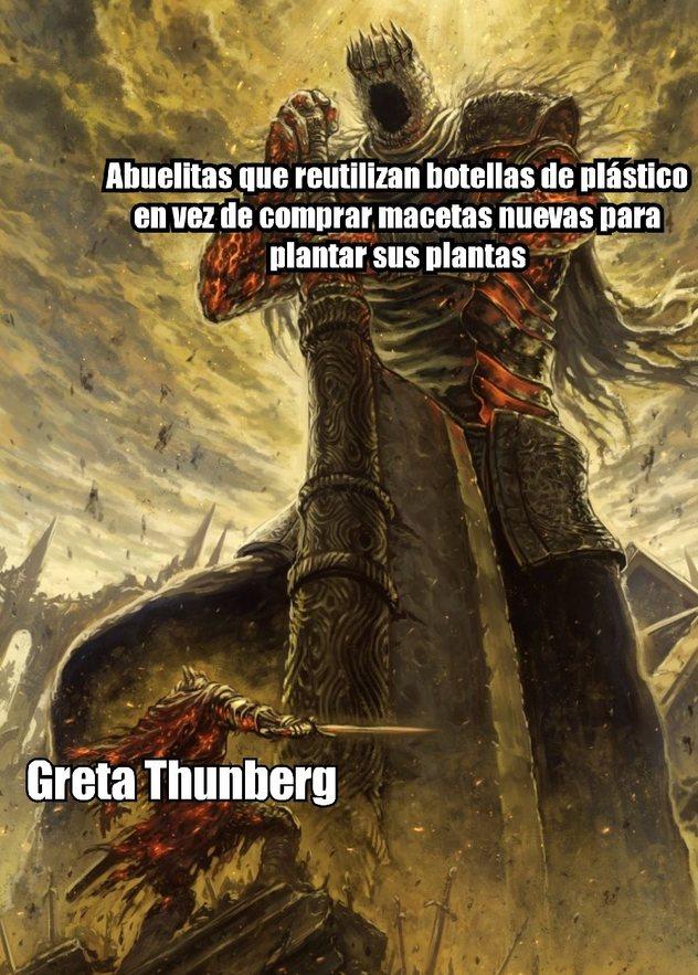 Seamos sinceros, verdaderamente Greta ha hecho algo para reducir el impacto del cambio climático? - meme