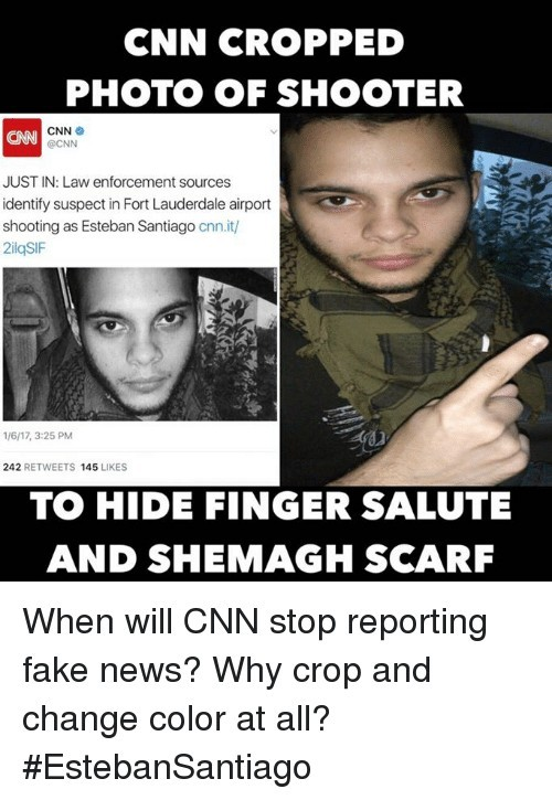 Shame on you CNN - meme