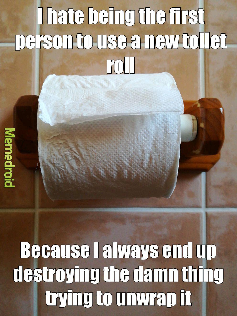 Loo roll? - meme