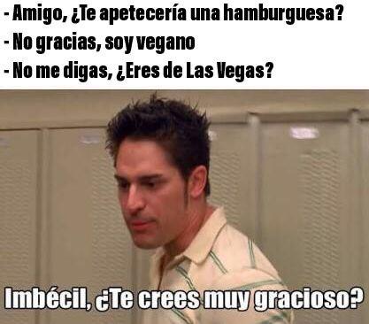 Las Vegas = Vegano - meme