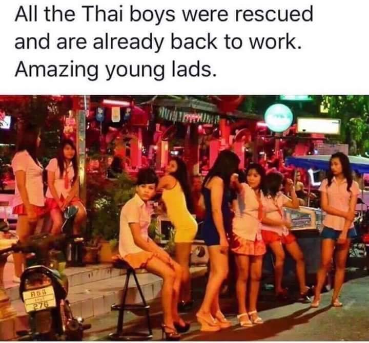 Work hard, thai harder - meme