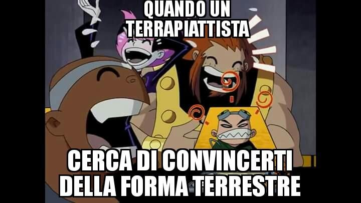 Oggi meme sui terrapiattisti a go go