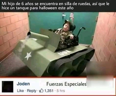 Fuerzas Especiales - meme