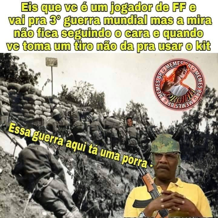 Free Fire Bosta Seca Meme By Joseliosergio Memedroid