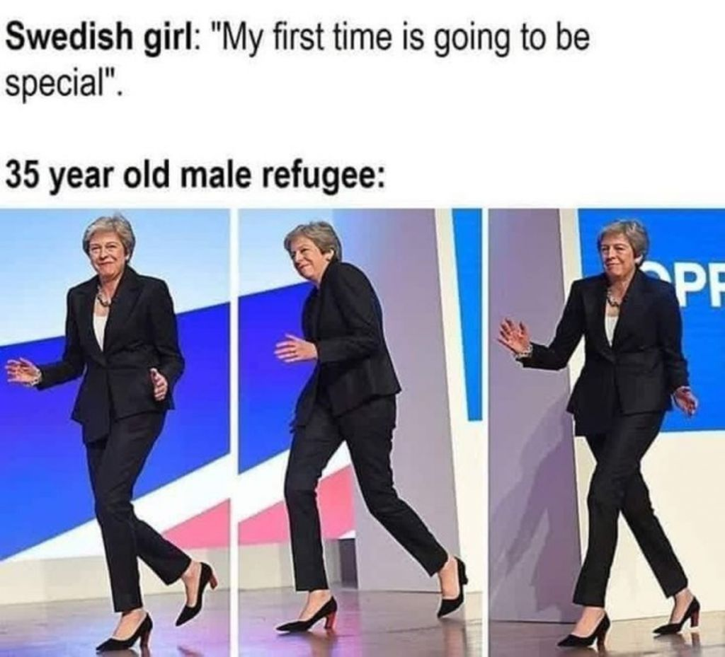 Title is Sweden - meme