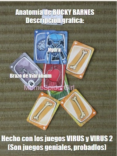 La foto es mía. Les recomiendo los juegos, son españoles. - meme