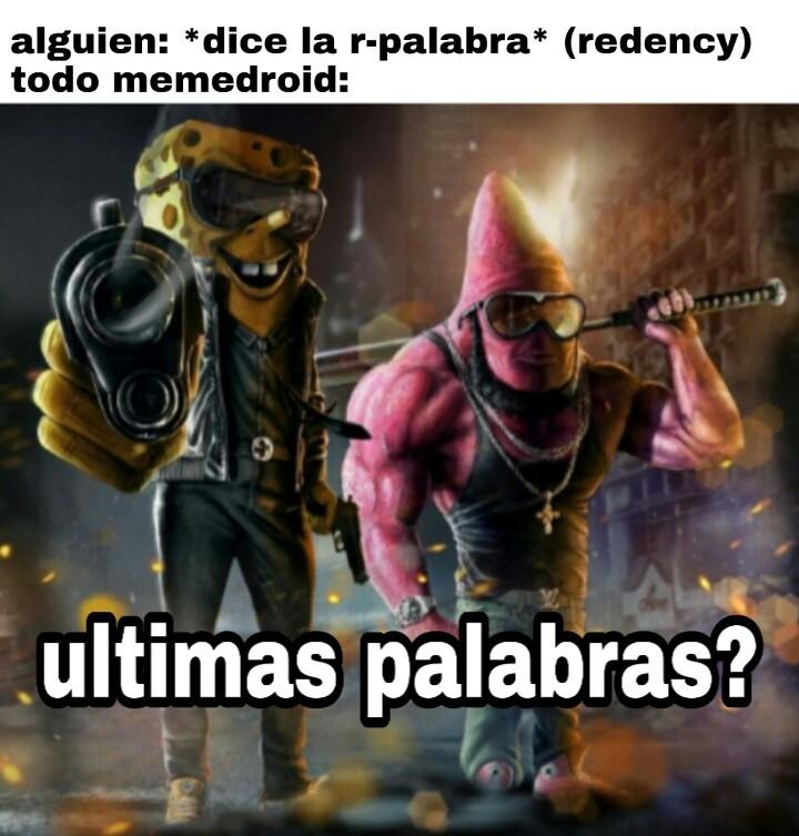 r-palabra - meme