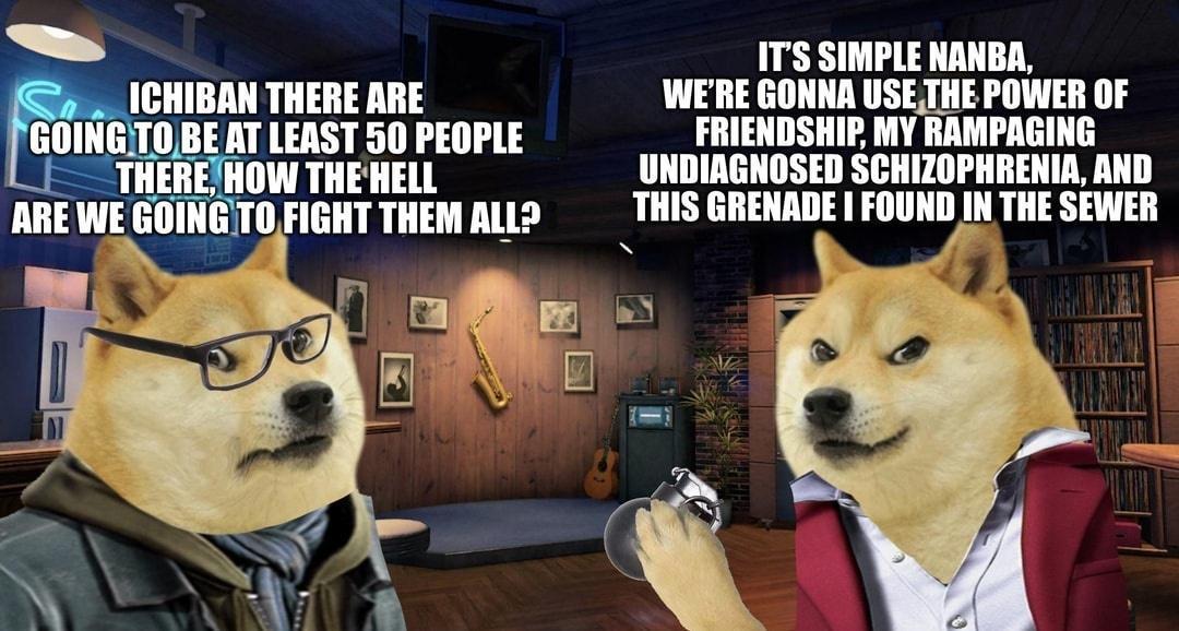 Fight them - meme
