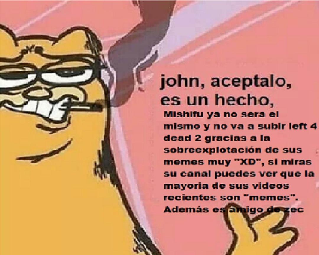 Carajo mishifu sube l4d2 - meme