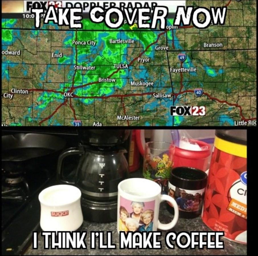 Make Coffee - meme