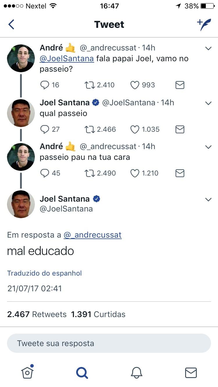 Joel, um mito - meme