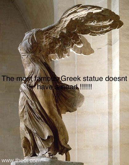 Greek statue - meme