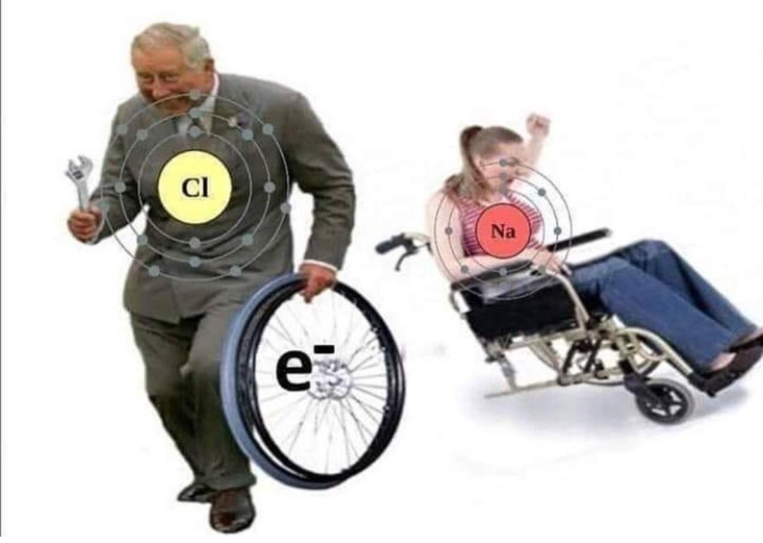 Quimica para tontos - meme