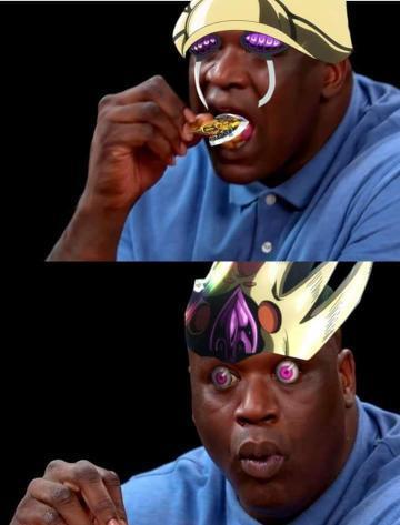 gold experience requiem - meme
