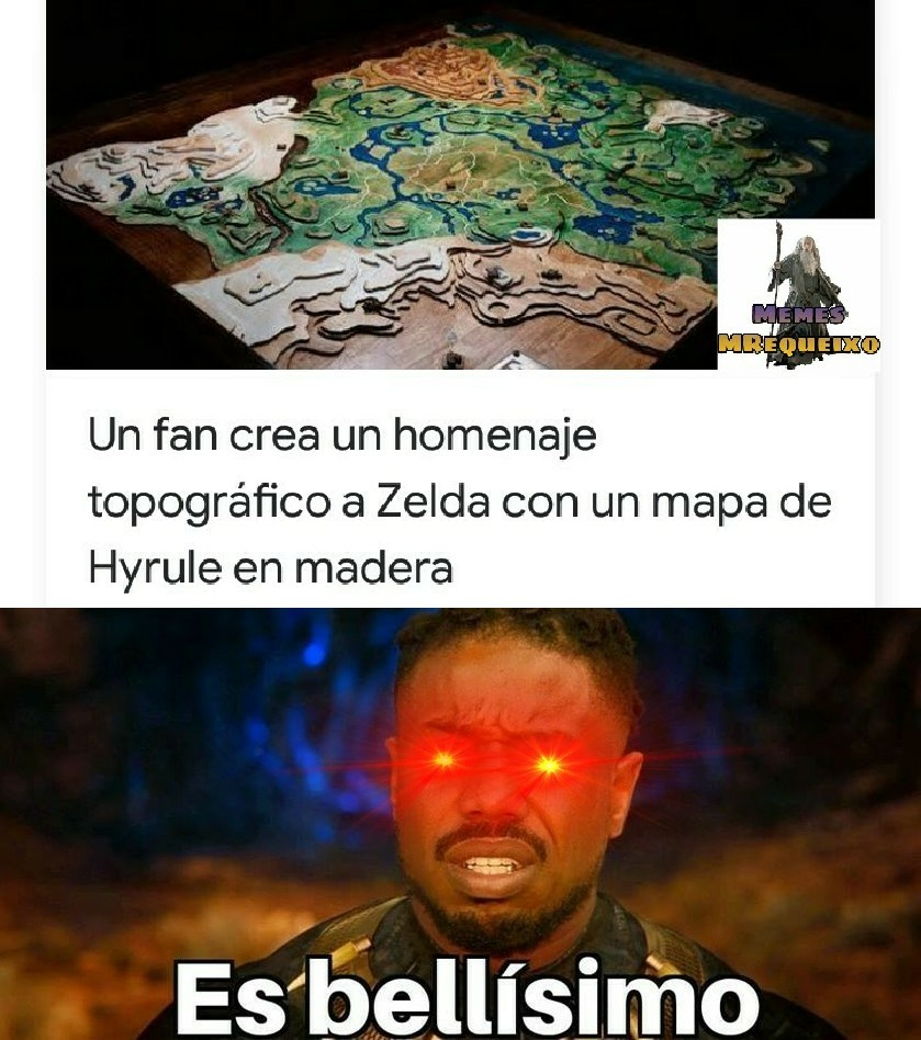 Fans de 'The Legend of Zelda': *happiness noice - meme