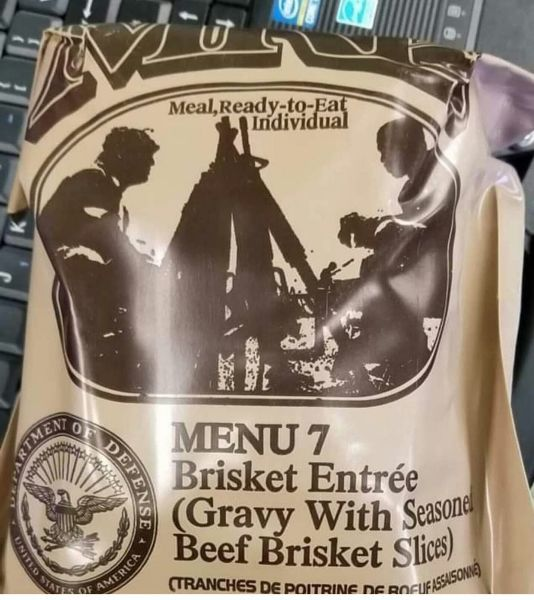 Are Donald Trump and Kanye West on my MRE? - meme