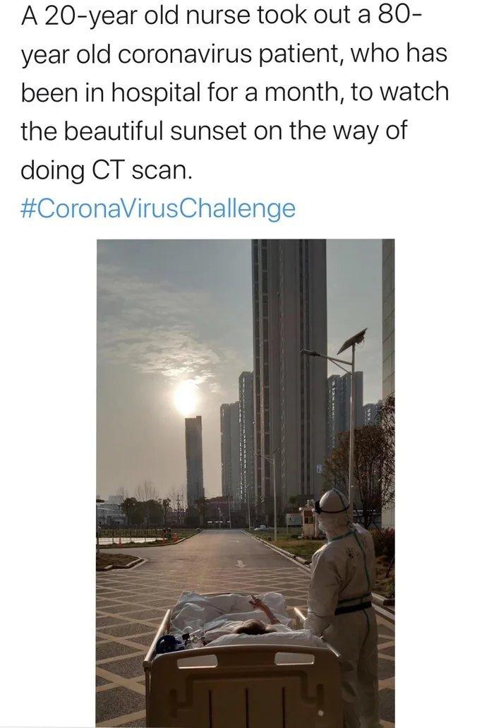 Coronavirus challenge aka CVC - meme
