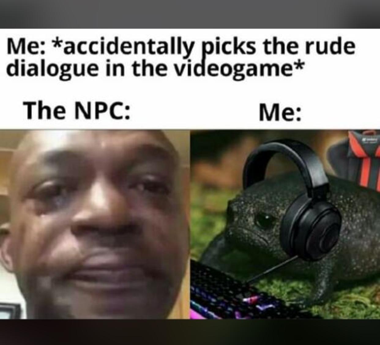 bate uma depressão - meme