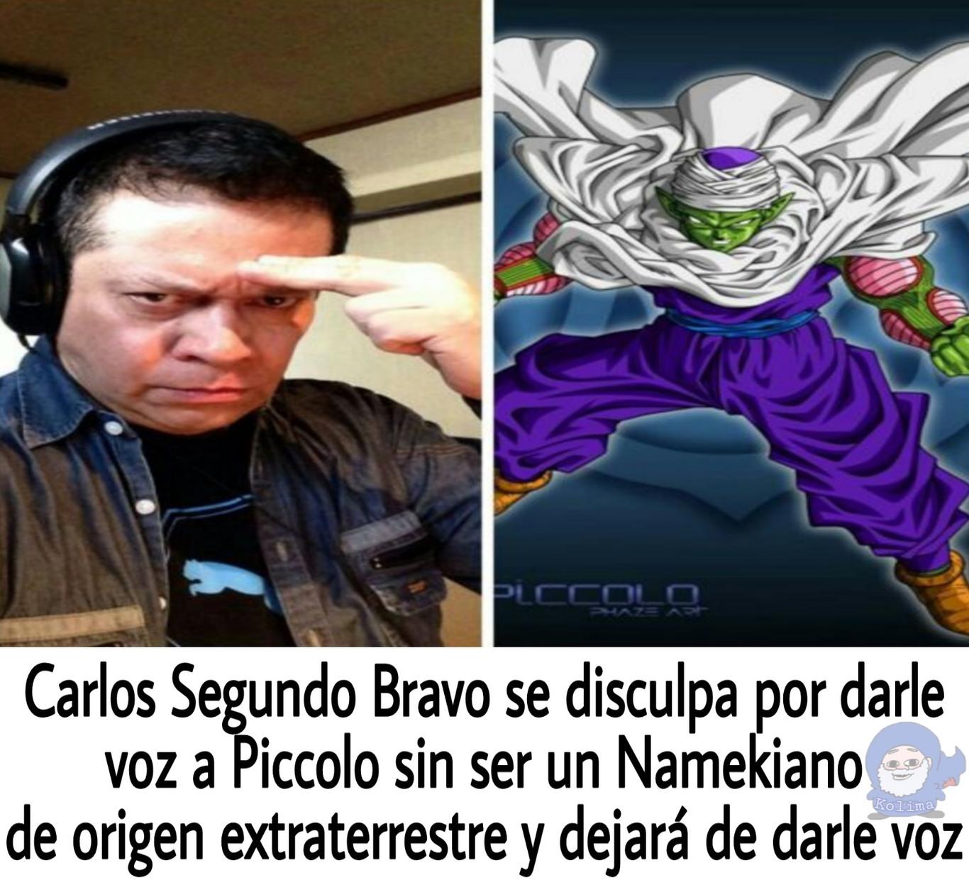 Pobre Piccolo, es discriminado - meme