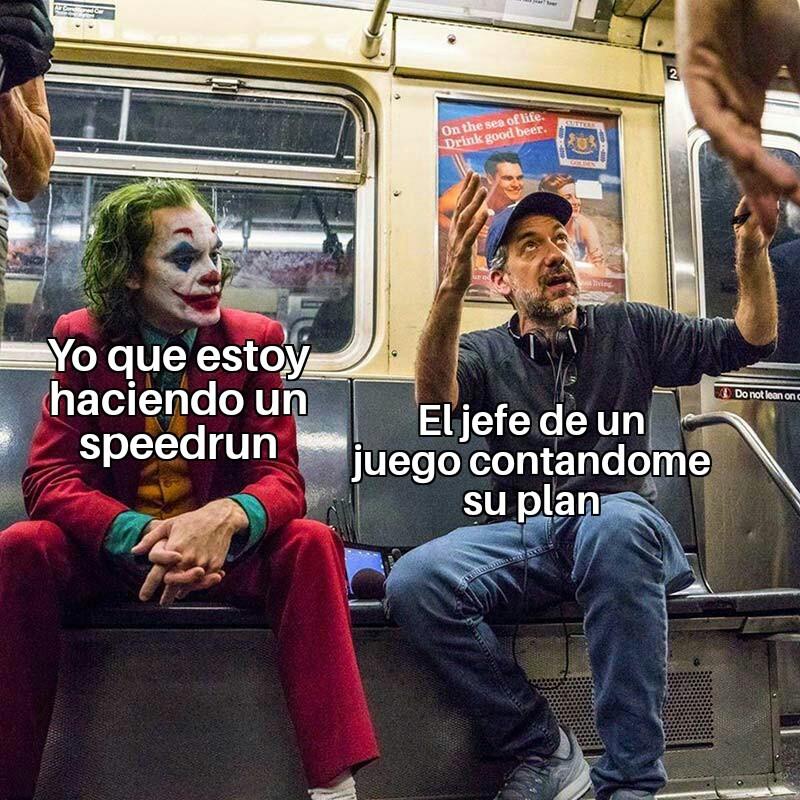 Speedruns - meme