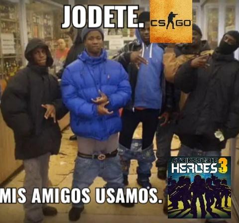 Jodete CS:GO By: OneDdYT - meme