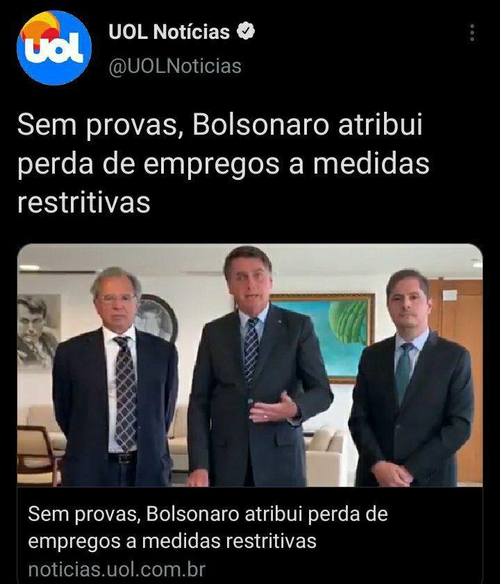 Sem provas, Bolsonaro diz que culpa da seca é a falta de água. - meme
