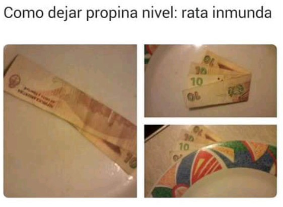 hola, me gusta el dinero - meme