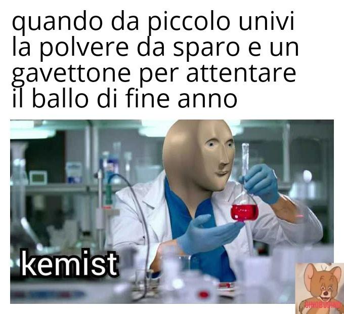 Chemist mussulmano - meme