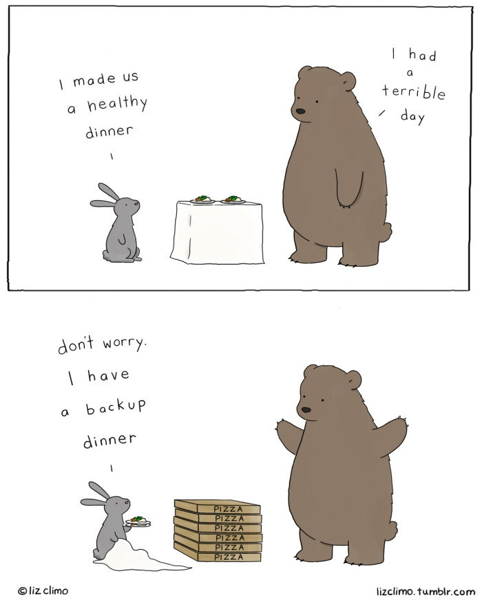 Credit goes to : Liz Climo. Happens all the time - meme