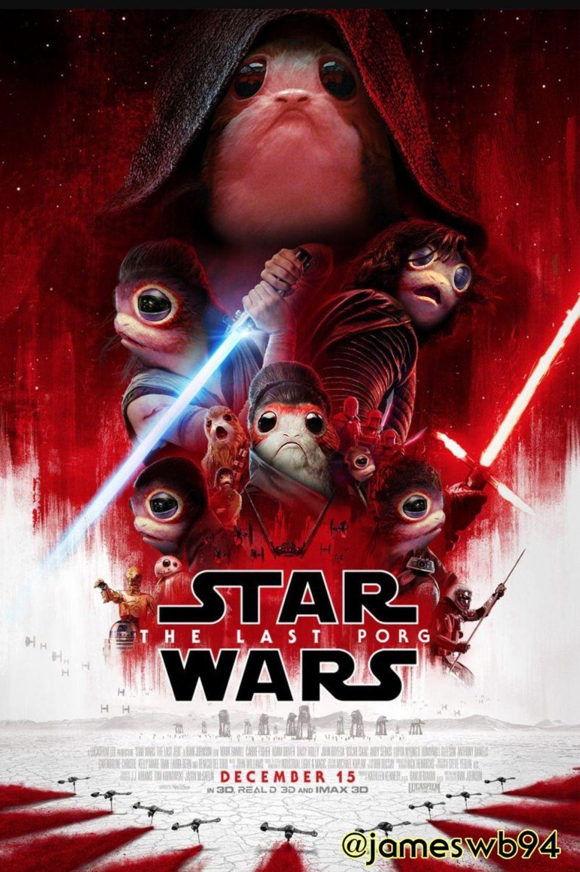 Porg Wars - meme