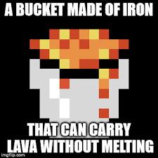 Minecraft Logic - meme
