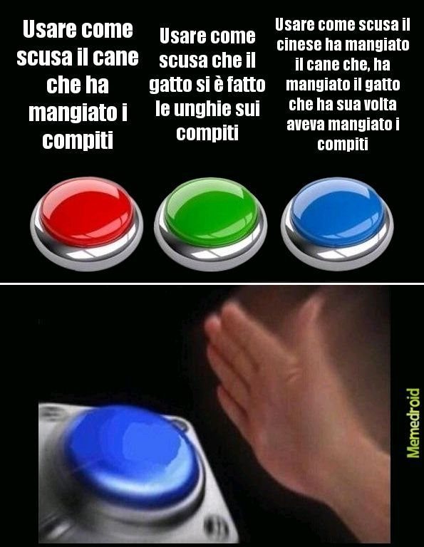 Le scelte - meme