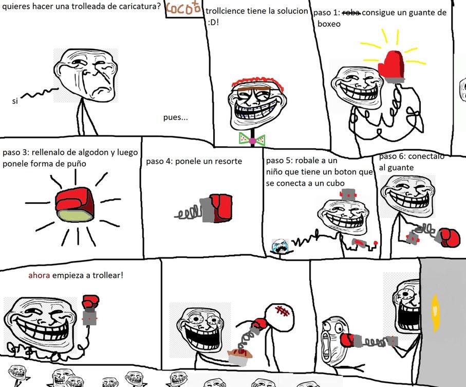 un trollcience creado por mi xd - meme