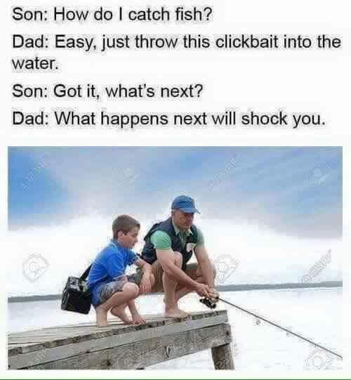 Clickbait - meme