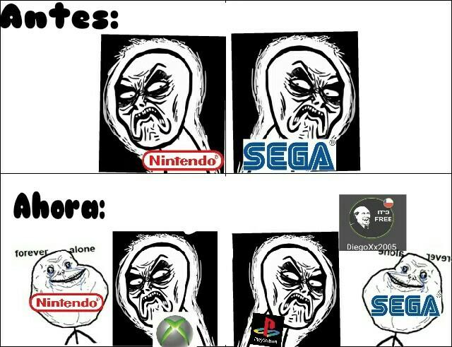 Es solo humor,me gusta Nintendo :) - meme