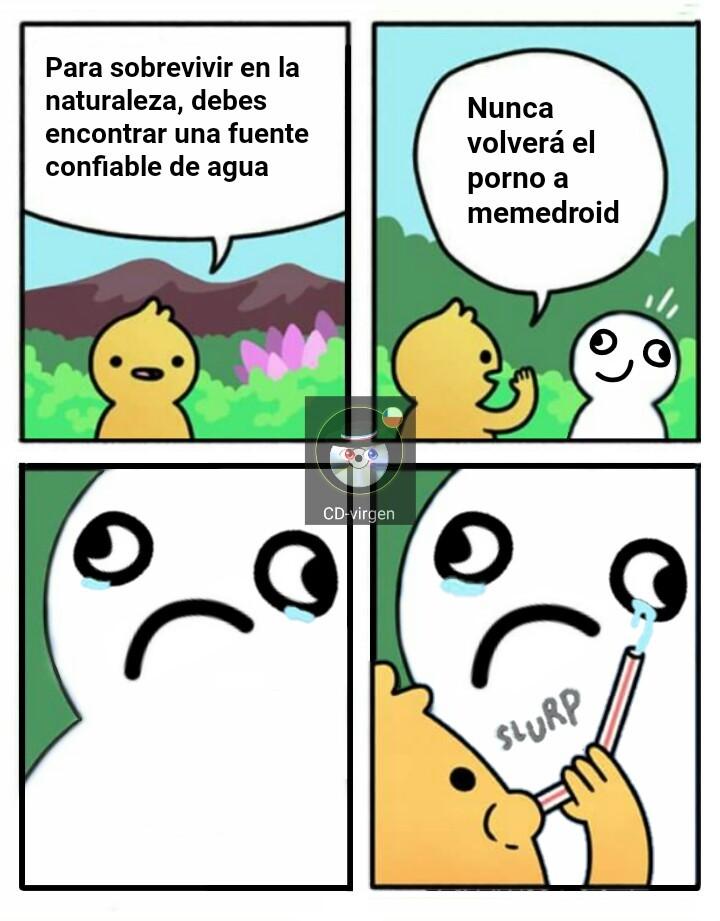 ⛄nunca⛄ - meme