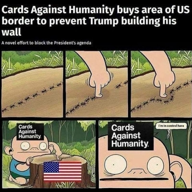 Cards Against Humanity? I never tough cards were so retarded - meme