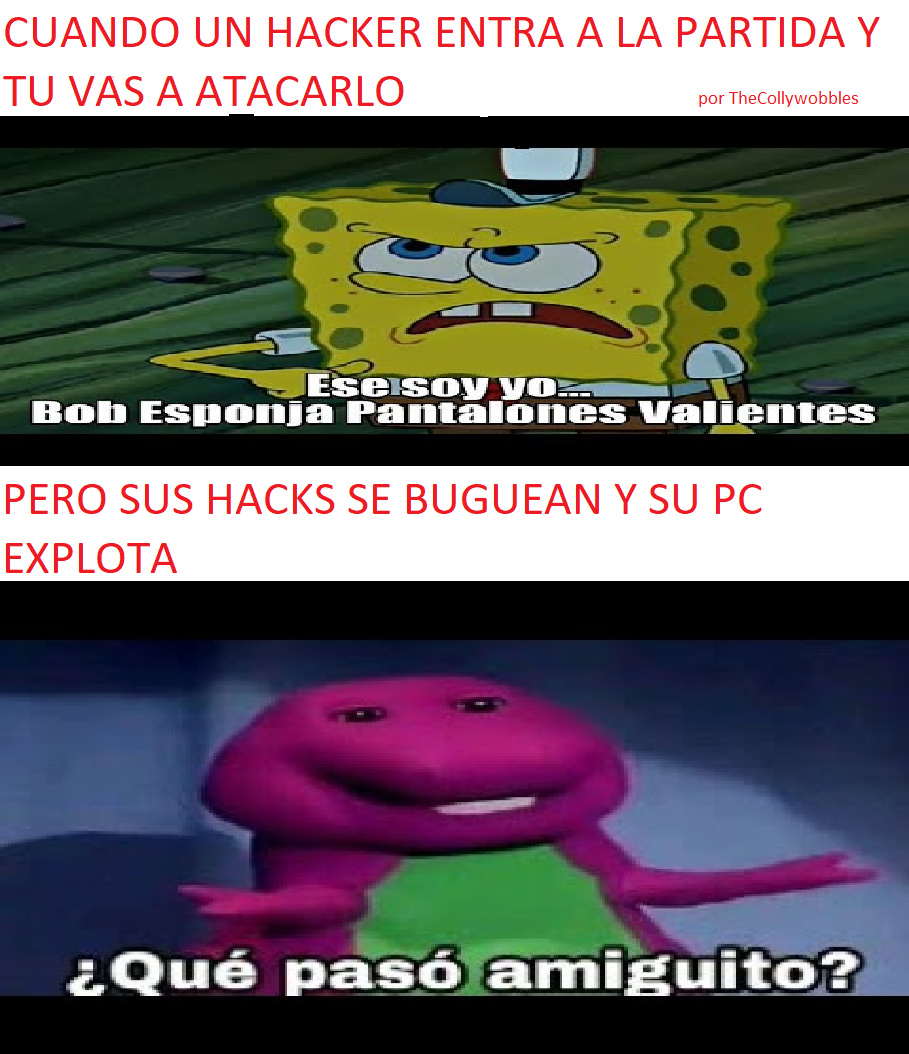 Pinches Hackers - meme