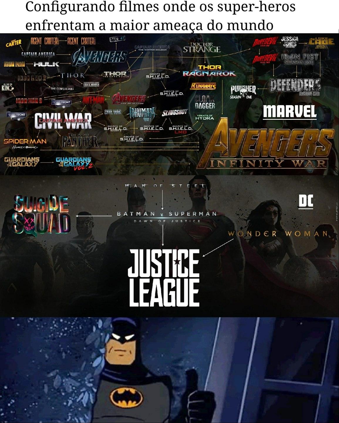 Batman aprova - meme