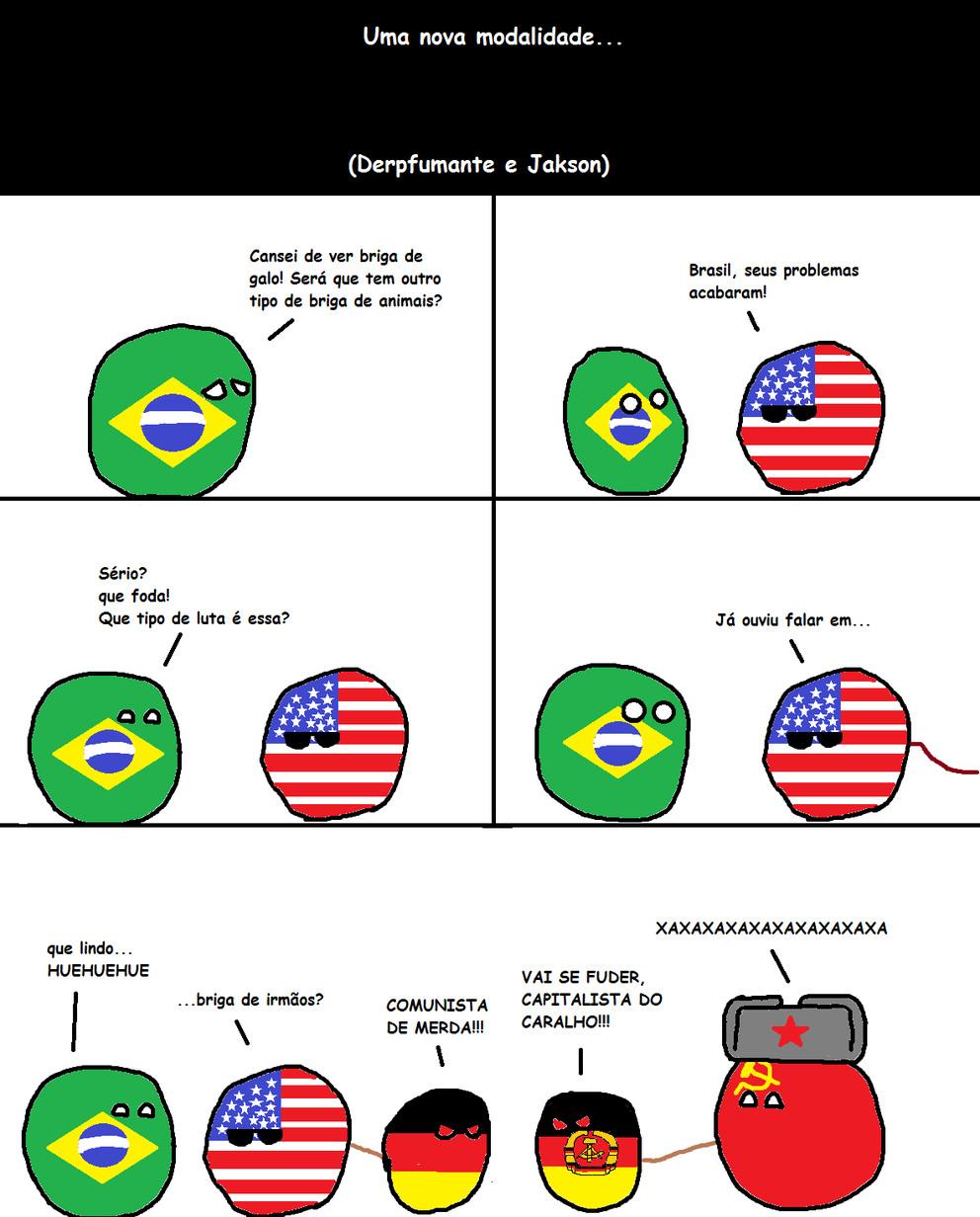Uma nova modalidade de luta (ft. Jakson) - meme