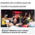 brasileiro fazendo brasilice. Kkkk