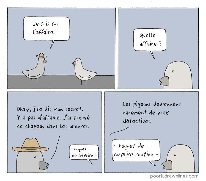 Beau chapeau pour un pigeon - meme