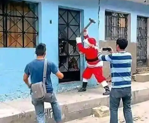 Natal no Brasil - meme