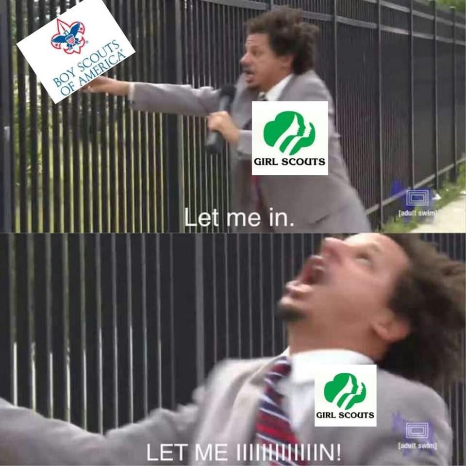 Girl Scouts - meme